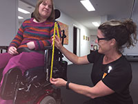 sarah wheelchair services page photo